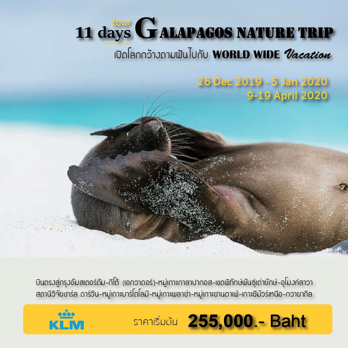 WWV18_Galapagos Nature Trip 11 D_(26 Dec 2019-5 Jan 2020 & 9-19 Apr 2020)