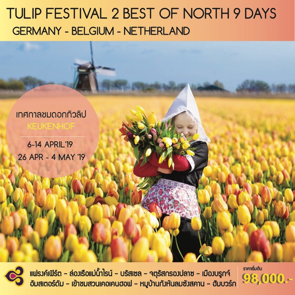 TULIP FESTIVAL : BEST OF NORTH 9 DAYS