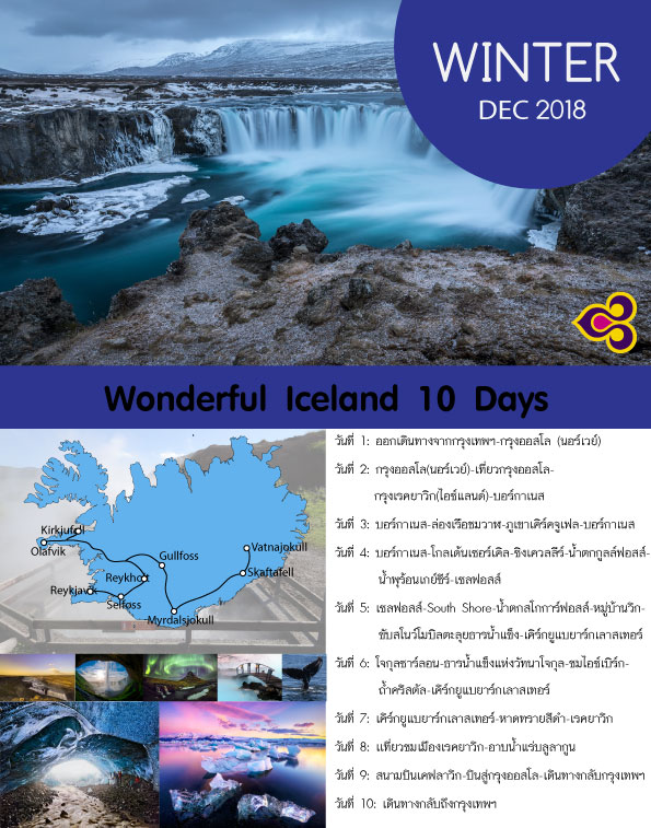 Wonderful Iceland 10 Days