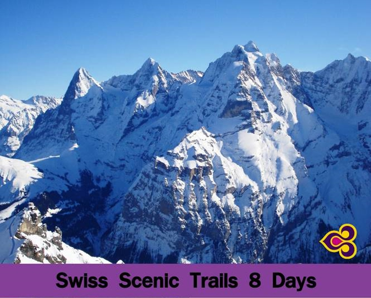 SWISS SCENIC TRALLS 8 DAYS