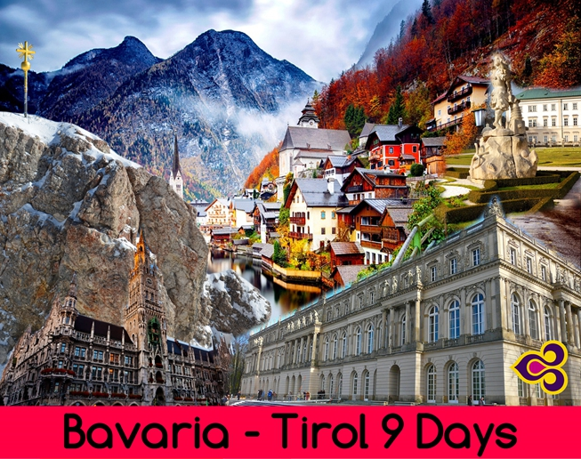 BAVARIA - TIROL 9 DAYS